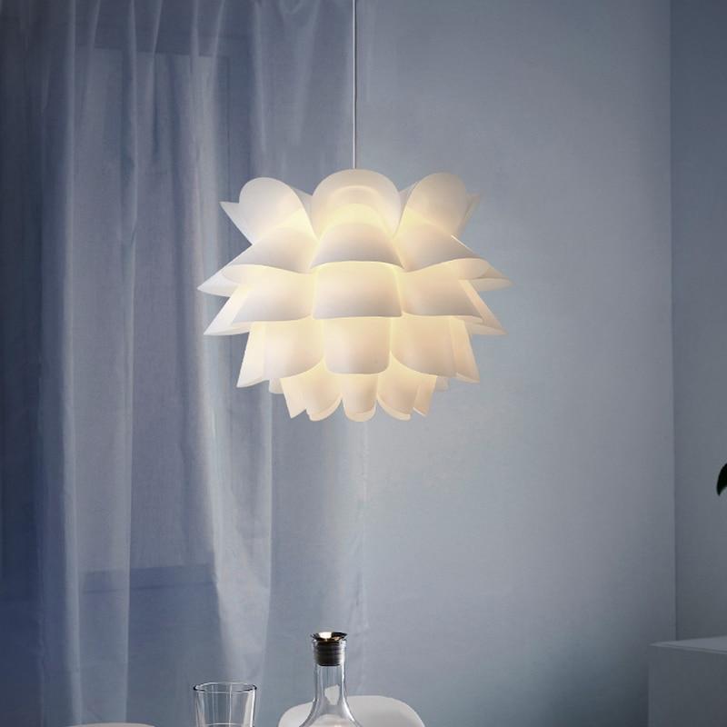 [해외]현대 노르딕 로터스 꽃 전등 갓 램프 그늘 천장 펜 던 트 조명 홈 장식 office 호텔 바 다 이닝 룸 장식