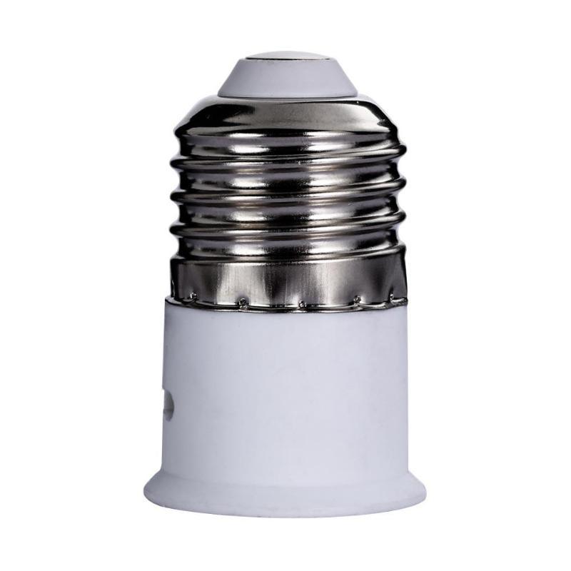 [해외]E27 to B22 스크류 램프 기본 변환기 램프 홀더 전구 소켓 변환기 Bayonet 에디슨 스크류 램프 홀더 변환기/E27 to B22 스크류 램프 기본 변환기 램프 홀더 전구 소켓 변환기 Bayonet 에디슨 스크류 램프 홀더 변환기