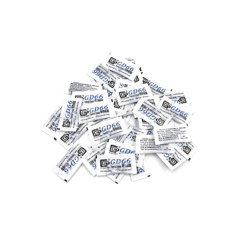 [해외]50pcs gd66 열 전도성 그리스 붙여 넣기 실리콘 석고 led 칩 히트 싱크 화합물 50 조각 그램 고성능 회색/50pcs gd66 열 전도성 그리스 붙여 넣기 실리콘 석고 led 칩 히트 싱크 화합물 50 조각 그램 고성능 회색
