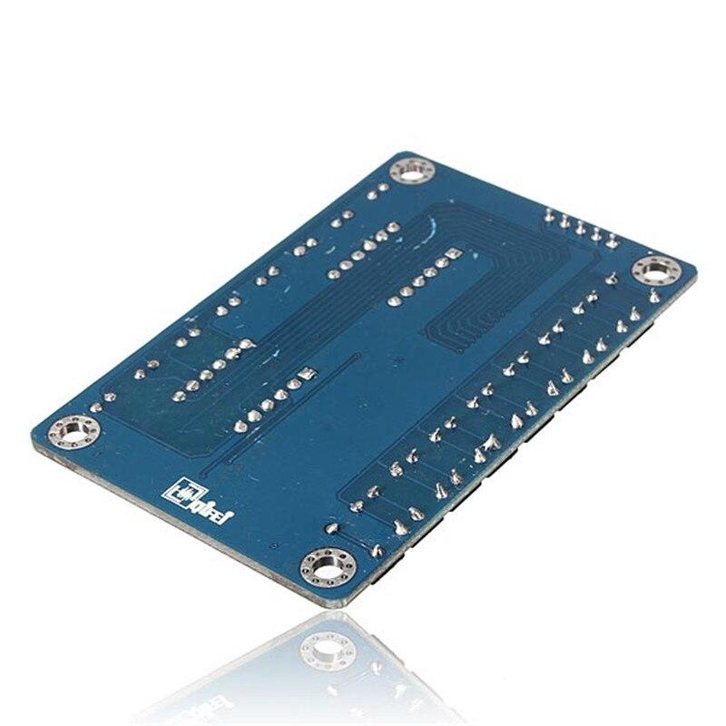 [해외]Arilux 칩 키 디스플레이 모듈 tm1638 8 비트 디지털 led 튜브 avr vcc gnd 5 v 전원 공급 장치 stb clk dio scm io 포트