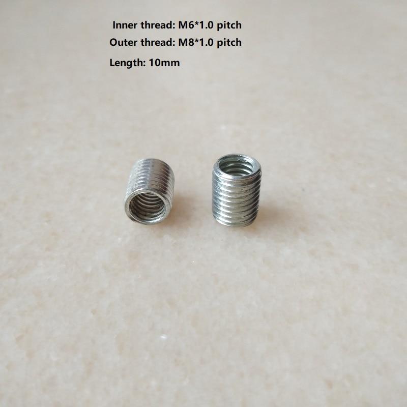 [해외]M6  m8 내부 및 외부 나사 중공 튜브 어댑터 내부 중공 나사 어댑터 파이프 어댑터 볼트 너트 커플러 컨베이어 어댑터/M6  m8 내부 및 외부 나사 중공 튜브 어댑터 내부 중공 나사 어댑터 파이프 어댑터 볼트 너트 커플러 컨베이어 어댑터