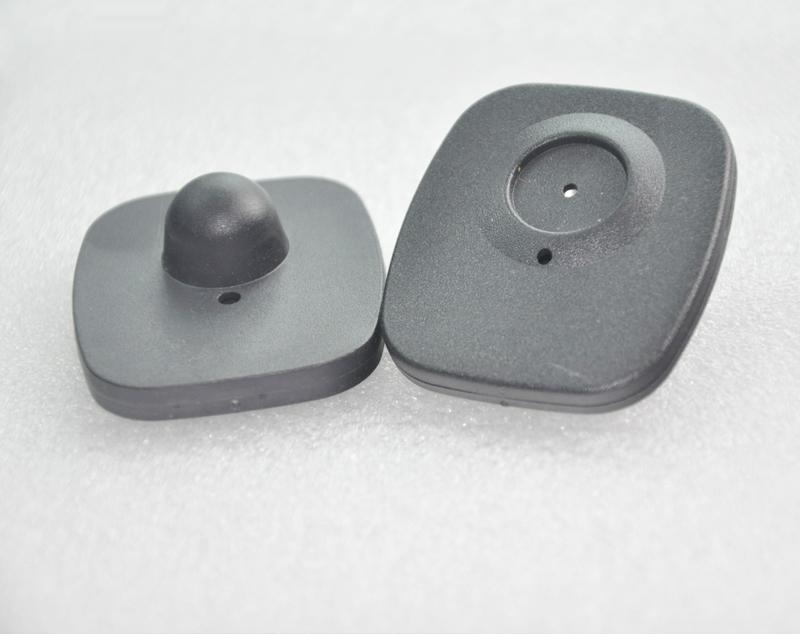[해외] EAS의 Rf 하드 태그 8.2mhz의 보안 레이블 미니 사각형 라벨 48 * 42mm 3000PCS / 많은/Free shipping Eas Rf hard tag 8.2mhz security label mini square label 48*42mm 3000p