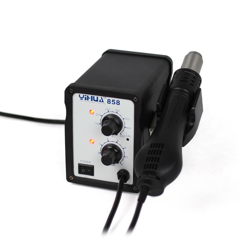 [해외]Yihua 858 220V 700W Portable ESD Soldering Station BGA rework station LED Digital Intelligent Hot Air Gun/Yihua 858 220V 700W Portable ESD Solderi