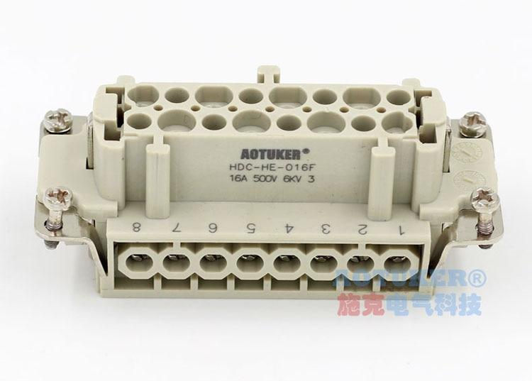[해외]Heavy Duty Connector HDC-HE-016F/Heavy Duty Connector HDC-HE-016F
