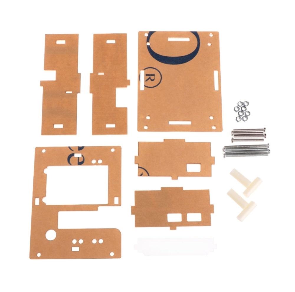 [해외]Acrylic Transparent Case Shell for TFT GM328 Transistor Tester Diode LCR ESR Meter PWM Square Wave DIY Kit (Only Case)/Acrylic Transparent Case Sh