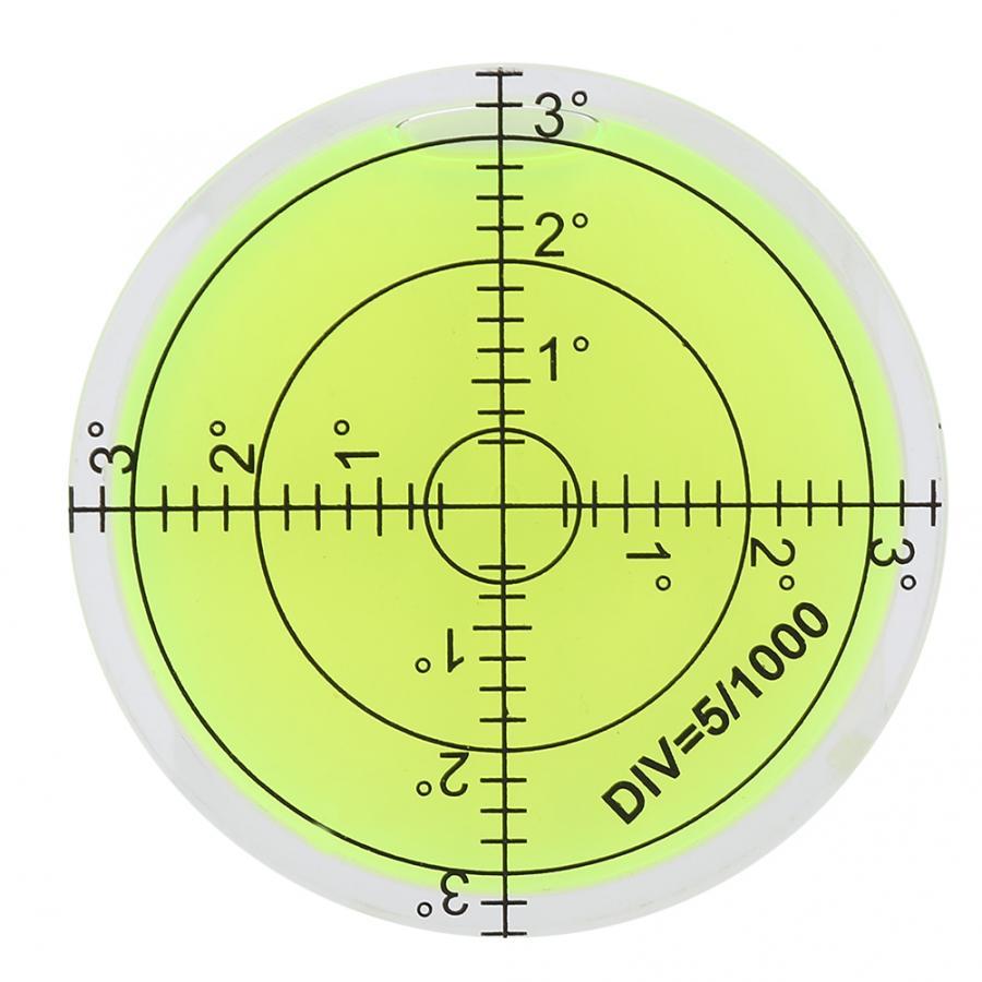 [해외]선형 스케일 60mm 직경 측정 도구 카메라 플랫폼 용 스케일 라운드 레벨 버블 밸런스 레벨 측정 장비/선형 스케일 60mm 직경 측정 도구 카메라 플랫폼 용 스케일 라운드 레벨 버블 밸런스 레벨 측정 장비