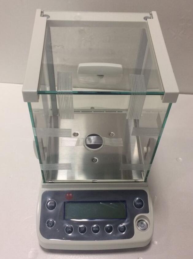 [해외]220g*0.0001g High Accuracy Lab Analytical Balance Temperature compensation Balance Scale USB 220V fast shipping/220g*0.0001g High Accuracy Lab Ana