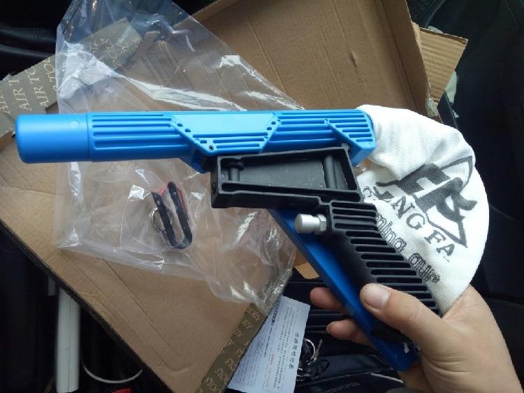 [해외]새로운 1 pcs 공압 클리너 키트 공기 흡입 총 도구 타이어 수리를위한 보충 도구