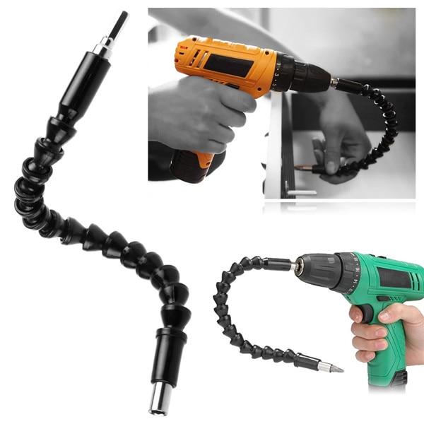 [해외]295mm Flexible Shaft Bit  Electronic Drill Screwdriver Extension Drill Bit Holder Connect Link 1/4 Inch Hex Shank Repair Tool/295mm Flexible Shaft