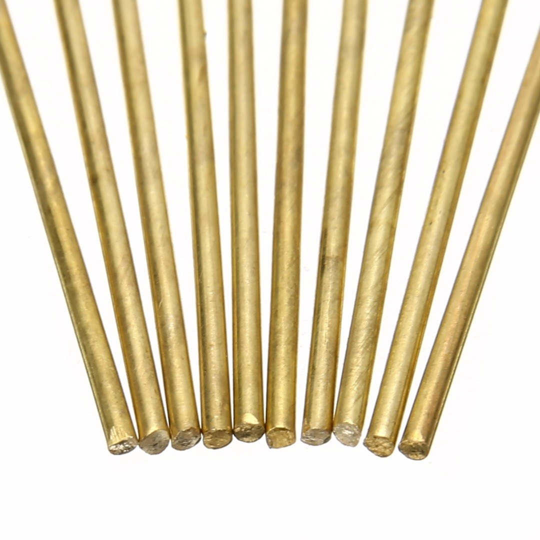 [해외]10pcs Brass Welding Rods Wires Sticks  1.6mm Diameter 250mm Length For Brazing Soldering Repair Tools/10pcs Brass Welding Rods Wires Sticks  1.6mm