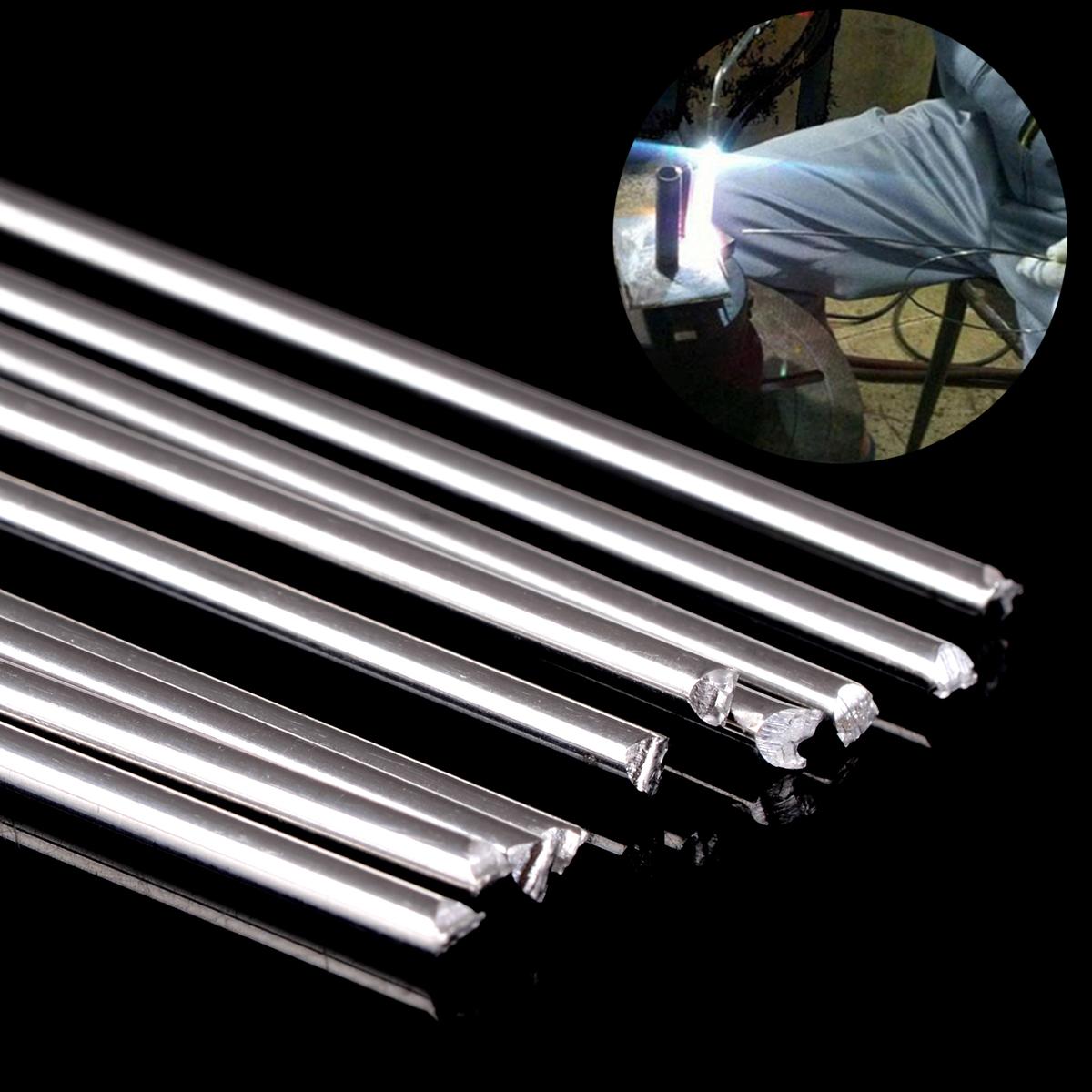 [해외]10pcs Metal Aluminum Magnesium Silver Welding RodLow Temperature 1.6mm Diameter 450mm Length/10pcs Metal Aluminum Magnesium Silver Welding RodLow
