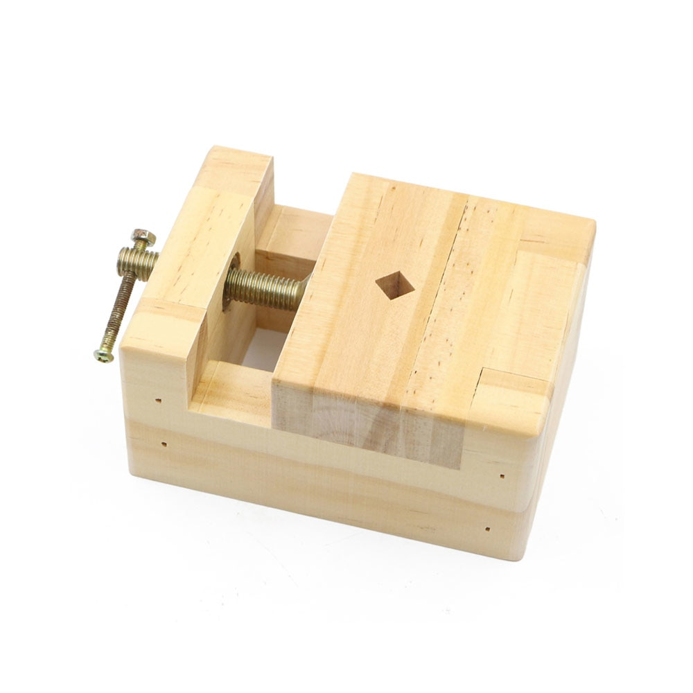 [해외]Small Size Solid Wood Engraving Bed Solid Wood Jig Stone Engraving Fixed Seal Cutting Tool Set Engraving Jig Table Clamp/Small Size Solid Wood Eng
