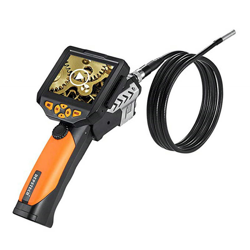 [해외]NTS200 Endoscope Inspection Camera 3.5 Inch LCD Monitor 8.2mm Diameter 3 Meters Tube DVR Borescope Zoom Rotate Flip/NTS200 Endoscope Inspection Ca