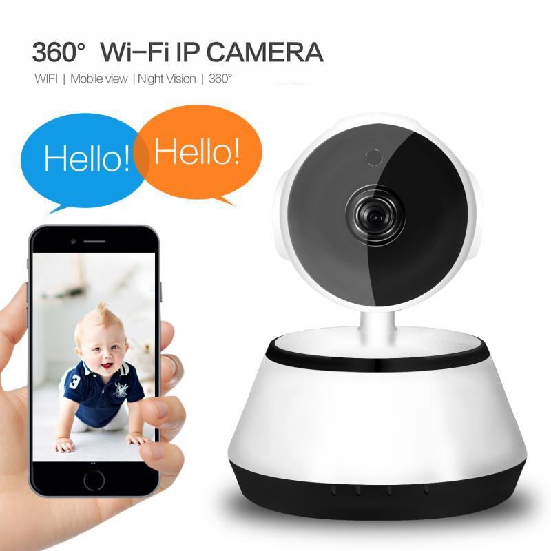 [해외]Hd 1080 p ip 카메라 무선 감시 카메라 야간 투시경 양방향 음성 2.4 ghz wifi 실내 스마트 홈 보안 베이비 모니터/Hd 1080 p ip 카메라 무선 감시 카메라 야간 투시경 양방향 음성 2.4 ghz wifi 실내 스마트 홈