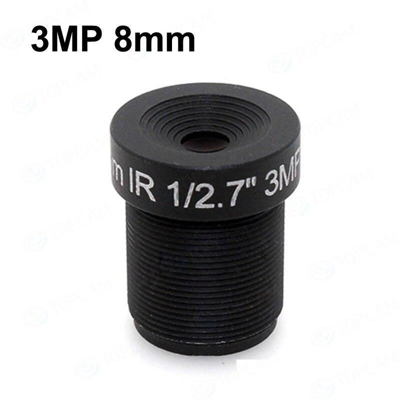 [해외]무료 배송 3MP 8mm 렌즈 IR F2.4 1/2. 7 \\\
