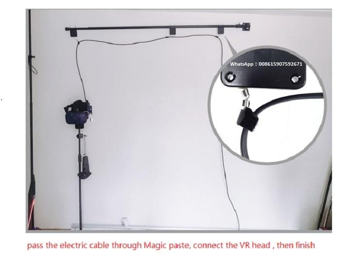 [해외]Htc vive 브래킷 vr 안경 케이블 브래킷 로프 자동 retrawire ake-up 릴 특수 와이어 anti-winding 라인 서스펜션 트랙터/Htc vive 브래킷 vr 안경 케이블 브래킷 로프 자동 retrawire ake-up 릴