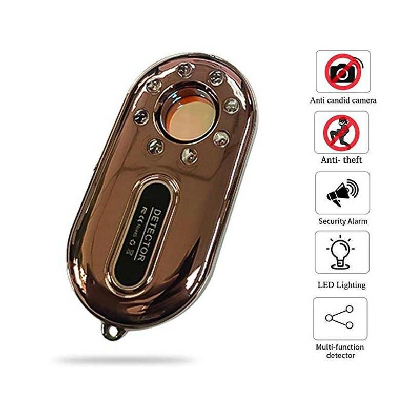 [해외]2019 새로운 최고의 호텔 스파이 렌즈 장치 트래커 + wallent 핸드폰 안티-분실 경보 장치 2-in-one (로즈 골드) 무료 배송/2019 새로운 최고의 호텔 스파이 렌즈 장치 트래커 + wallent 핸드폰 안티-분실 경보 장치 2