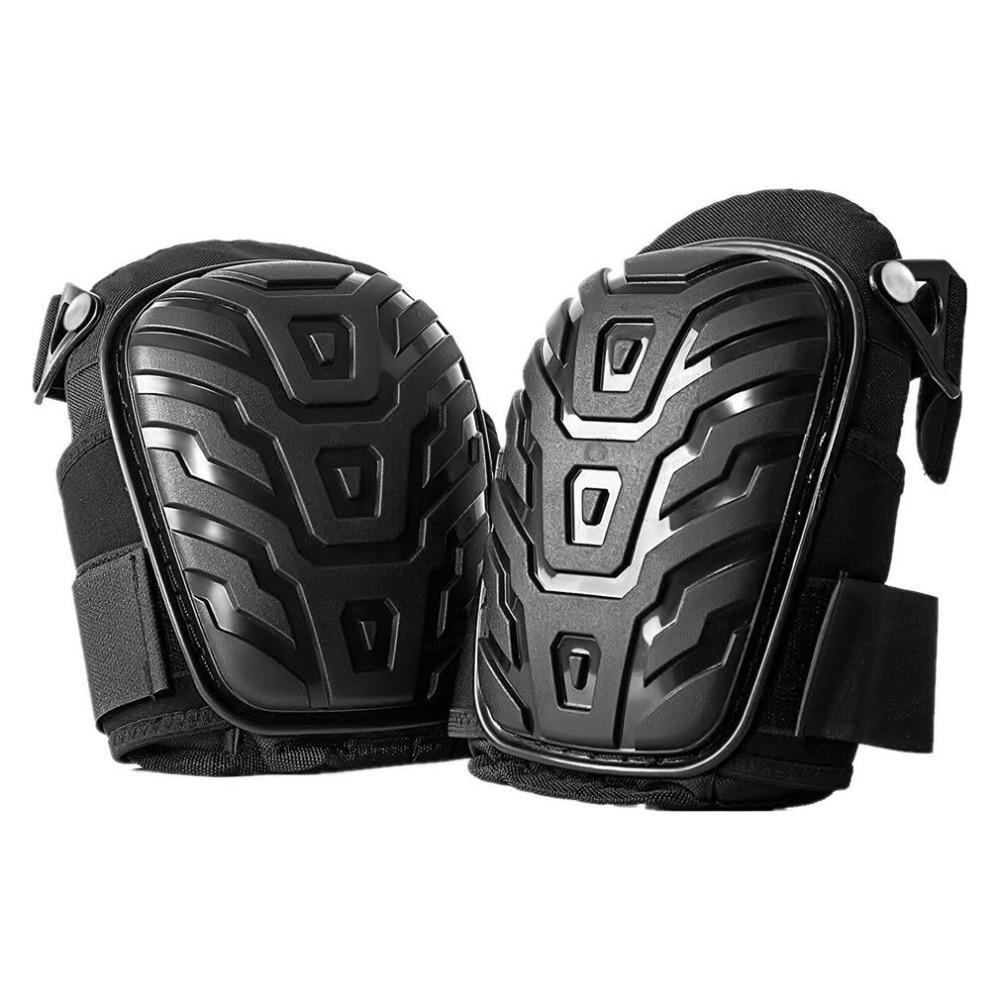 [해외]1 Pair/set Professional Knee PadsAdjustable Straps Safe EVA Gel Cushion PVC Shell Knee Pads for Heavy Duty Work/1 Pair/set Professional Knee PadsA