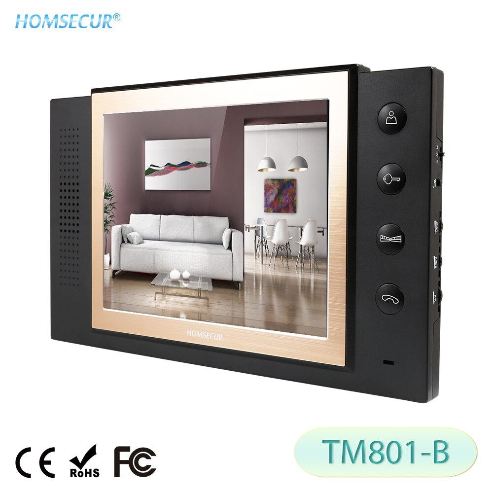 [해외]HOMSECUR TM801-B Indoor Monitor For HDW Wired Video Door Phone Intercom System/HOMSECUR TM801-B Indoor Monitor For HDW Wired Video Door Phone Inte