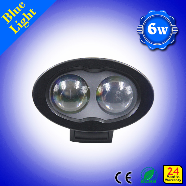 푸른 빛 지게차 보행자 안전 10-110V 백업 6w LED 경고등 블루 지게차 안전 라이트 6w /Free shipping 6w blue light forklift pedestrian safety 10-110V Back-up 6w LED warning ligh