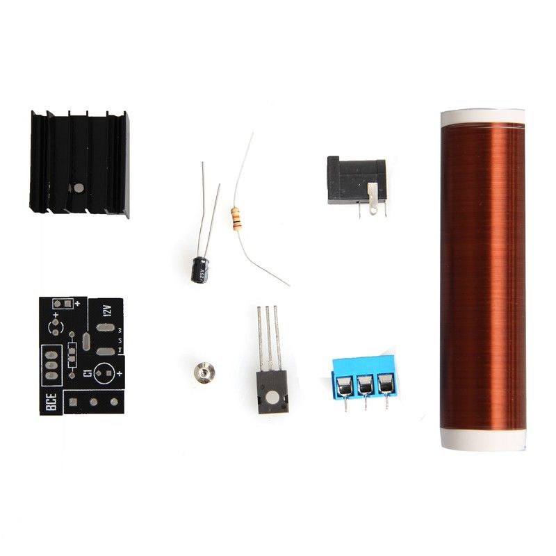 12V DC DIY 테슬라 코일 키트 아크 무선 전력 전송 조명/12V DC DIY Tesla Coil Kit Arc Wireless Electric Power Transmission Lighting
